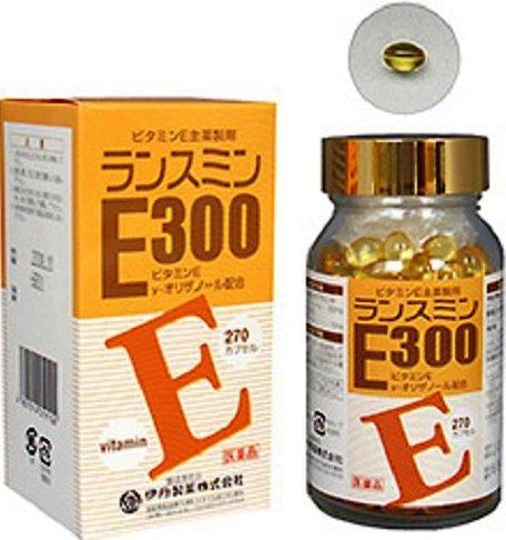 伊丹製薬 ビタミンE製剤 ランスミンE300 270カプセル入り(3か月分)【第3類医薬品】