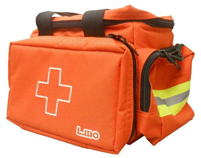 エルモ 防災用救急かばん 救急バッグ Mサイズ(約40×23×高さ21cm・容量約10L)・衛生セット付属
