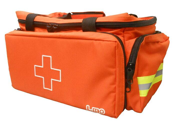 【送料無料】エルモ 防災用救急かばん 救急バッグ Lサイズ(約54×32×高さ27cm・容量約30L)・衛生セット付属