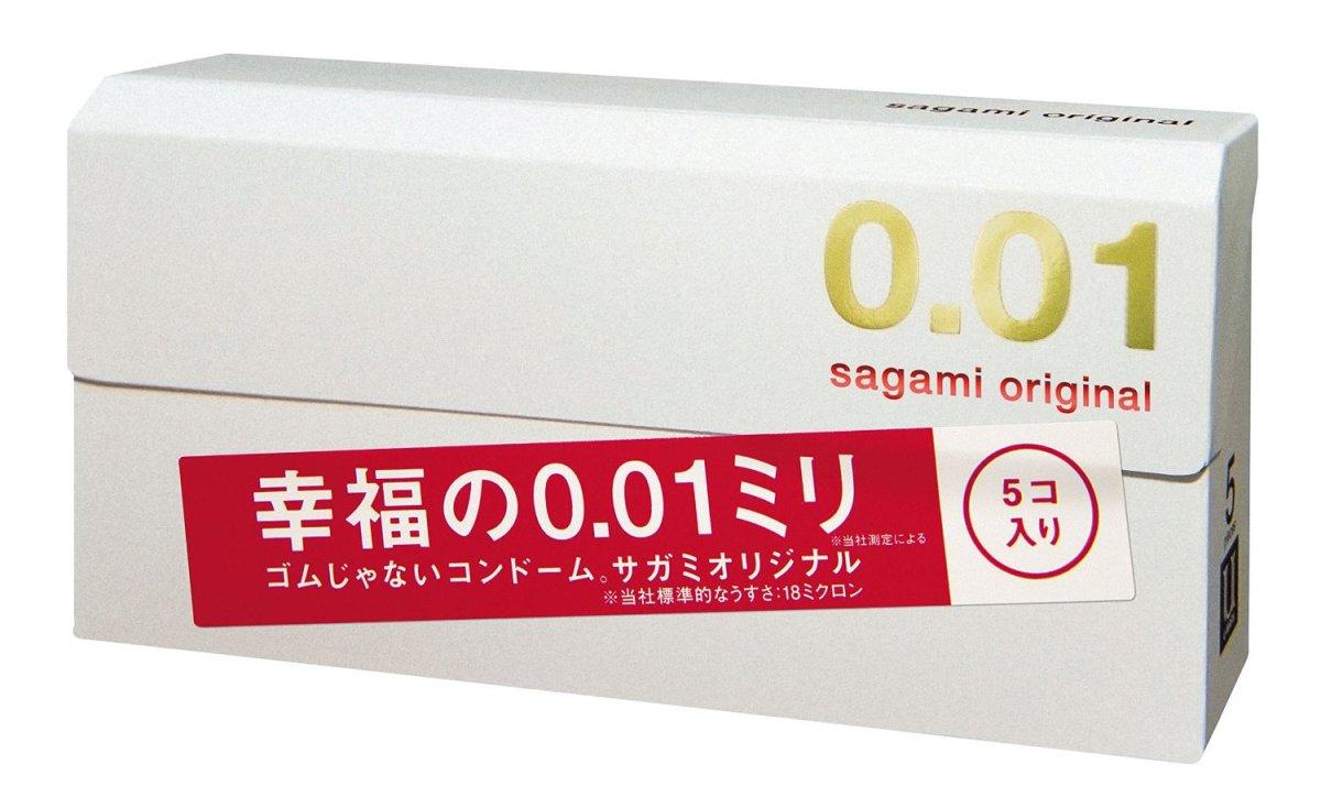 相模ゴム コンドーム サガミオリジナル 0.01 5個入り