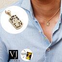 【ファッション誌に掲載】K18 メンズ レディース ダイヤモンド イエローゴールド オニキス ドッグタグ クロス ペ…