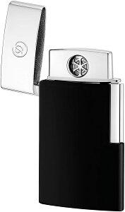 S.T. Dupont エス・テー・デュポン ライター E-スリム ブラック&クローム 027004E