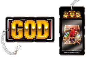 パチスロ GOD ミリオンゴッド 神々の系譜ZEUSver. ICカードパスケース