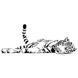 ウォールステッカー 動物 虎 ステッカー 転写 ウオールステッカー 豹 動物 WALL sticker モダン DIY 専門店 壁紙 アニマル おしゃれ 英字 トラ モノトーン 黒 植物 花 キッチン トイレ 猫 玄関 枝 葉 アフリカ 寅 大きい サイズ セクシー かわいい ネコ科 リビング 会議室