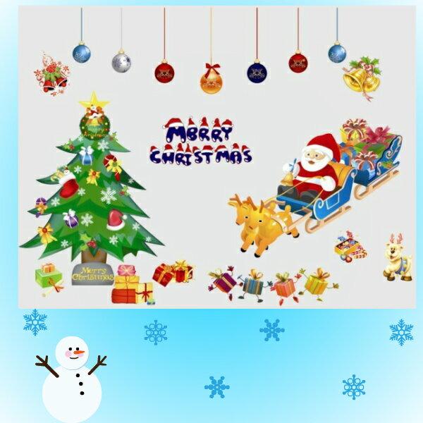 ウォールステッカー クリスマスツリー ウォールステッカー クリスマス ステッカー サンタクロース シール 木 サンタ 壁シール トナカイ 星 雪 壁紙 雪だるま 雪ダルマ CHRISTMAS プレゼント 雪の結晶 赤 緑 500 ガラス 1000 鹿 ロウソク 窓 景色 風景 子供部屋 かわいい 店