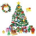 ウォールステッカー クリスマス クリスマスツリー ステッカー サンタクロース オーナメント 木 サンタ 窓 飾り シール トナカイ 冬 装飾 星 雪 かざり 雑貨 壁紙 雪だるま 雪ダルマ christmas プレゼント 雪の結晶 赤 緑 ガラス 鹿 植物 窓 景色 風景 子供部屋 かわいい