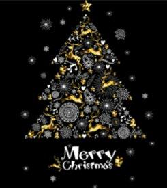 ウォールステッカー クリスマスツリー クリスマス サンタクロース ステッカー サンタ トナカイ ガラス 飾り ウィンドウ 壁 装飾 ガーランド オーナメント 聖夜 シール 大 星 雪 壁紙 雪だるま プレゼント 雪の結晶 金色 ゴールド 雑貨 キャンドル かわいい christmas ボール