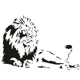 ウォールステッカー 動物 ライオン 転写 アフリカ 子供部屋 おしゃれ モノトーン モダン カフェ モノクロ 猫 壁紙 アニマル ディズニー 動物園 サファリ ウオールステッカー 世界地図 木 身長計 大迫力 英字 時計 野獣 専門店 黒 野生 大きい シール 強い キング 王様 大柄