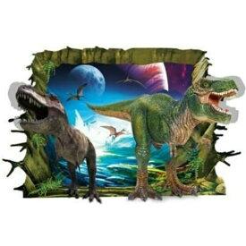 ウォールステッカー 動物 恐竜 トリックアート 子供部屋 壁穴 鳥 風景 アニマル ステッカー シール お風呂 海 写真 星 宇宙 山 穴 インテリアシール 植物 木 文字 衛星 3d 背景 おもちゃ 大きい 船 キッズ だまし絵 地球 火山 溶岩 マグマ リビング 塾 教室 化石 恐竜時代