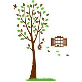 ウォールステッカー / 植物/ 木/ ウオールステッカー ツリー/ インテリアステッカー/ 鳥かご/ 壁紙/ ディズニー/ アジアン / 大きな木/ 子供部屋/ キッチン/ 英字/ 北欧/ 風景/ モダン/ 鳥/ リーフ/ リース/ ikea/ 鏡/ シール/ トイレ/ 緑/ 葉/ 写真/ 和室/ 和風/ かわいい/