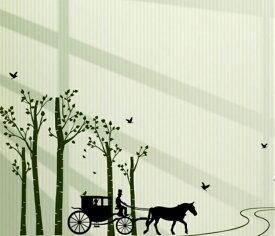 ウォールステッカー 動物 植物 おしゃれ 木 北欧 花 ツリー 森の景色 ステッカー ウォールシール アニマル インテリアステッカー 窓 玄関 風景 シール 街 デコシール しまうま 壁紙シール 光 インテリア 北欧 壁 車 森 夜景 寝室 鳥 葉 緑色 ニトリ 人 馬車 馬 景色 レトロ