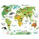 ウォールステッカー 世界地図 地図 動物 子供部屋 英字 アニマル ウォールシール 英文 壁紙 風景 身長計 かわいい 子供 アジアン アルファベット 木 花 子供 海 シール 専門店 シマウマ パンダ 森林 森 ジャングル リビング 大きい 知育 教室 託児所 勉強 キッズ 勉強 学習