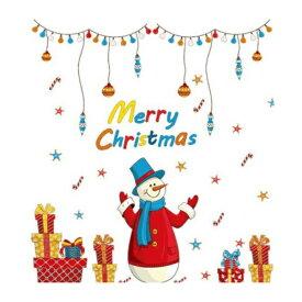 ウォールステッカー サンタクロース クリスマス クリスマスツリー おしゃれ ステッカー 子供部屋 木 サンタ 壁シール トナカイ 窓 星 雪 壁紙 冬 装飾 飾り かざり 雪だるま 雪ダルマ CHRISTMAS プレゼント 雪の結晶 赤 緑 大きい ガラス ロウソク 飾り 景色 風景 かわいい
