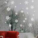 ウォールステッカー クリスマス サンタクロース クリスマスツリー ステッカー サンタ トナカイ ガラス 飾り 壁 おしゃれ 窓 オーナメント ウィンドウ ウォールシール ホワイト 白 雪の結晶 星 壁紙 雪だるま christmas 鹿 キラキラ かわいい イブ ラメ ショップ かざり 雑貨