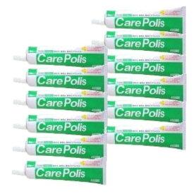 (送料無料)(歯科専用)ケアポリス 75g12個セット プロポリス配合 歯肉をケア! 医薬部外品 歯磨き 歯ブラシ