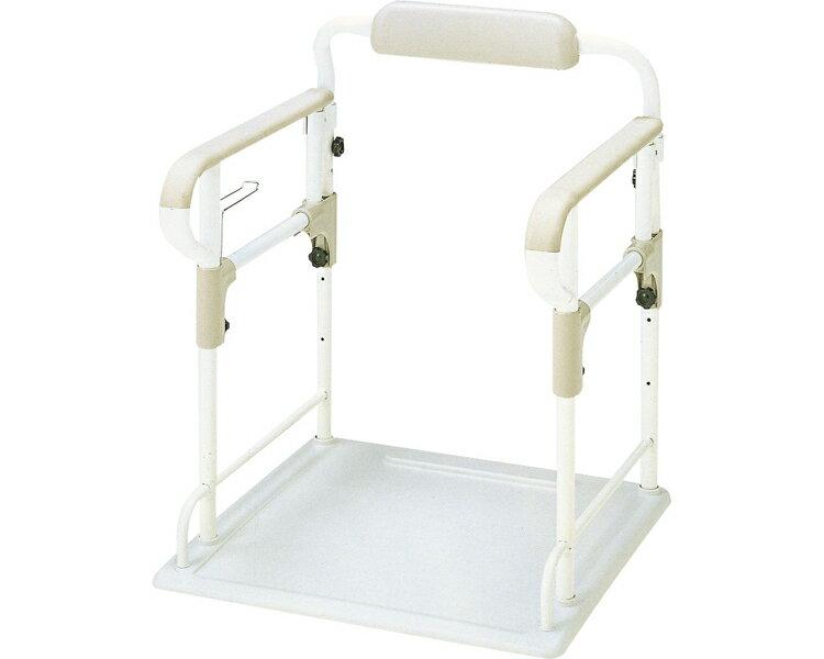 安寿 ポータブルトイレ用フレーム ささえ / 533-070 アロン化成 1台 JAN4970210031230