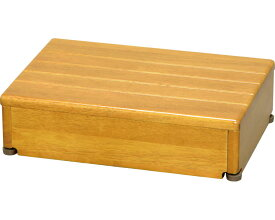 安寿 木製玄関台 1段タイプ 45W-30-1段 / 535-546 ライトブラウン アロン化成 1台 JAN4970210397497