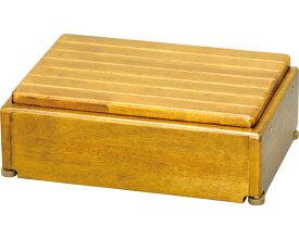 安寿 木製玄関台 高さ調整タイプ S45W-30-1段 / 535-572 ライトブラウン アロン化成 1台 JAN4970210397596
