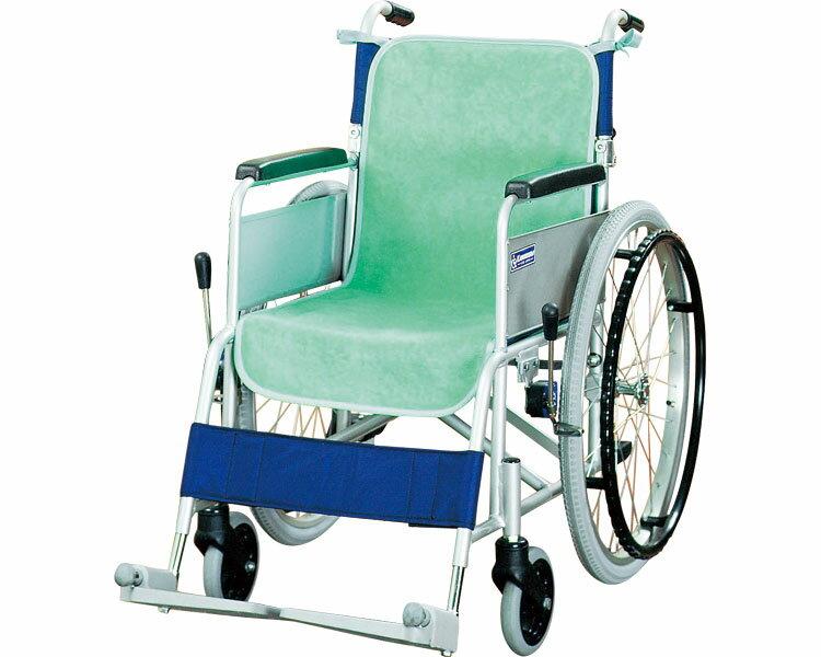 車椅子シートカバー(同色2枚入) / グリーン ケアメディックス 1組 JAN4958519321016