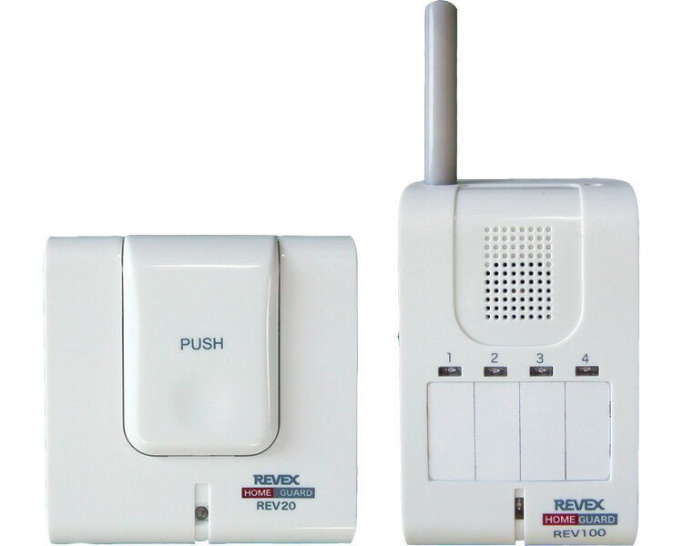 呼び出しボタン&携帯受信チャイム / REV120 リーベックス 1セット JAN4943125708047