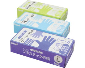 テイコブプラスチック手袋(パウダー無し) M JAN4938765020543