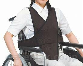 車椅子ベルト / 4010 L ブルー 特殊衣料 1個 JAN4521573006009