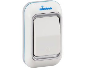 monban ワイヤレスチャイム押しボタン送信機 / OCH-M40 オーム電機 1個 JAN4971275805156
