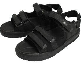 SaiSaiジャストフィットサンダル WG520 / LL ブラック マリアンヌ製靴 1足 JAN4534378232283