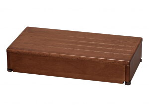 アロン化成 木製玄関台 60W-30-1段 ブラウン