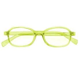 老眼鏡(受け付け用) 中度 眼鏡(イエロー) 1本