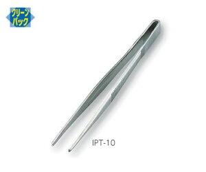 標準型ピンセット 極細 ステンレス IPT-10 1本