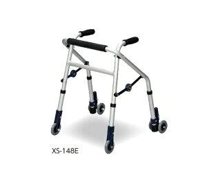 超ミニタイプ歩行器 (ミニフィット) 前輪・後輪キャスター式 XS-148E 1台
