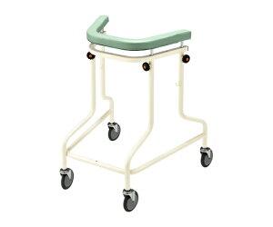 らくらくあるくん(R)(ネスティング歩行器) グリーン Rkun-SGR 1個