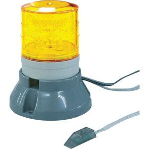 NIKKEI FAX着信表示機 ニコFAX VL04S型 LED回転灯 45パイ 2段階点滅ブザー付き 1台 (VL04S-100FAB)