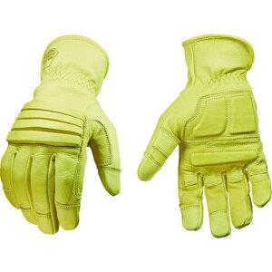 YOUNGST 革手袋 ナックルバスター アンチバイブ L 1双 (11-3210-10-L)