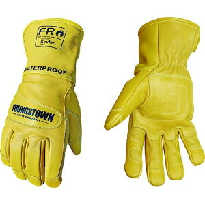 YOUNGST 革手袋 FRウォータープルーフレザー ケブラー(R) S 1双 (11-3285-60-S)