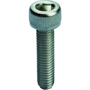 TRUSCO 六角穴付ボルト スチール メッキ 全ねじ M4×16 45本入 1PK (Y154-0416)