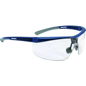 ハネウェル 保護メガネ アダプテック クリアレンズ 紺+グレー 標準幅 1個 (T5900LBLJ)
