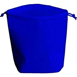 TRUSCO 不織布巾着袋 A4サイズ マチあり ネイビー 10枚入 1袋 (HSA4-10-NV)