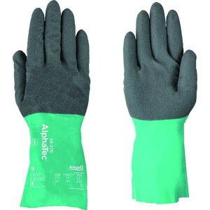 アンセル 耐薬品手袋 アルファテック 58−270 XLサイズ 1双 (58-270-10)