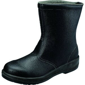 シモン 安全靴 半長靴 7544黒 26.0cm 1足