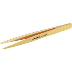 HOZAN 竹ピンセット125mm 1本 (P-860-125)