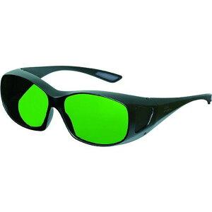 リケン レーザー用二眼型保護メガネ(YAG・ファイバー用)メガネ併用可 1個 (RSX-4 YG)