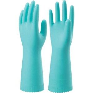 ショーワ ニトリルゴム手袋 ナイスハンドエクストラ中厚手 Lサイズ 緑 1双 (NHEXC-LG)