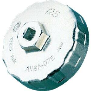 KTC 輸入車用カップ型オイルフィルタレンチ074C 1個 (AVSA-074C)