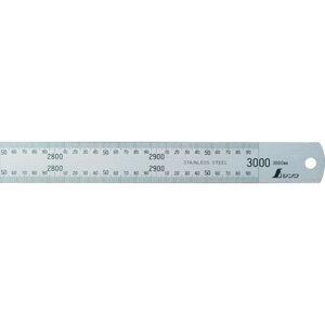 シンワ 直尺シルバー3000mm 1本 (13072)