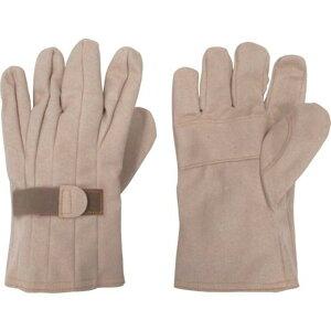 YOTSUGI 保護革手袋 マジックテープ付き 大 1双 (YS-103-12-02)