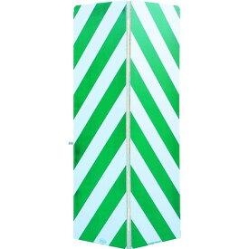 ワコー セーフティーガード白色・緑色448mm×1440mm 1台 (WSG-144-G)