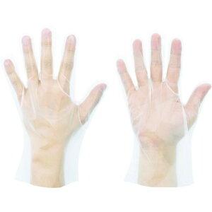 ショーワ ポリエチレン使い捨て手袋 No826ポリエチ手袋 内エンボス100枚入 Mサイズ 1箱 (NO826-M)