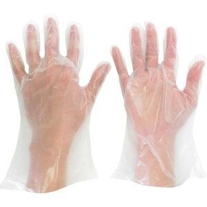 ミドリ安全 ポリエチレン使い捨て手袋 厚手 外エンボス M (200枚入) 1箱 (VERTE-565N-M)